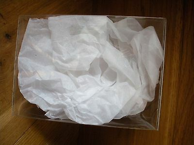 10 x CLEAR ACETATE / PVC /BOXES  15.5 X 22.5 X 5 CM FOR CRAFTS / PACKAGING E