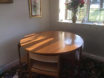 Retro style round table and chairs