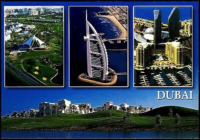 Postcard - Dubia  United Emirates 4 Views Unposted