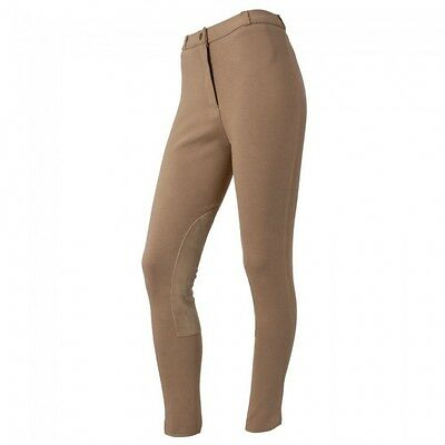 Comfort Riders ladies tan riding breeches size 34L English tack equine