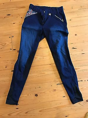 hkm breeches Size Uk26 Pro Team