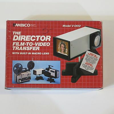 "Ambico ""the Director"" Model V-0612 Film To Video Transfer."