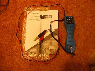 Ts 19 Portable Test Phone Blue With Instruction Book