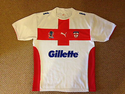 England Rugby League World Cup 2008 Jersey Men's Size L