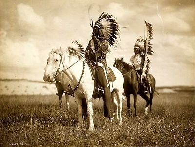 New 6 X 4 Photograph American Us Wild West Indian 10