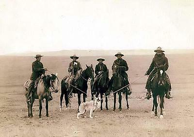 New 6 X 4 Photograph American Us Wild West Cow Boys 5