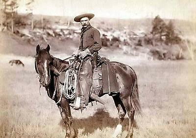 New 6 X 4 Photograph American Us Wild West Cow Boys 4