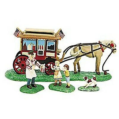 Dept Department 56 Seasons Bay Here Comes the Ice Cream Man 6328