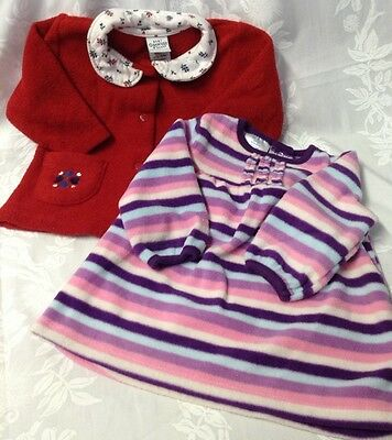 Infant Baby Girl Tops Size 3-6 Months By Small Wonder & Baby Osh Kosh