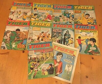 Tiger Comics 1984 Job Lot (5)