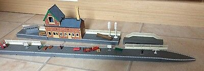 Oo Gauge Hornby Station Platform Building Accessories Fencing For Railway Layout