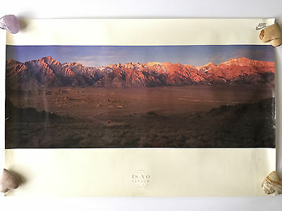 """Nike Run Vintage There Is No Finish Line Poster 36"""" x  24"""""""