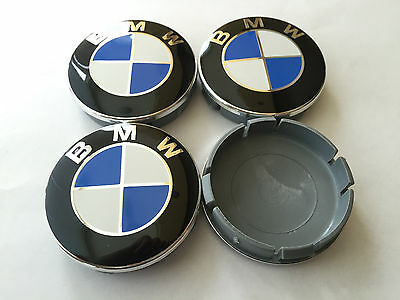 4x neu bmw 68mm felgendeckel radnabendeckel 36136783536. Black Bedroom Furniture Sets. Home Design Ideas