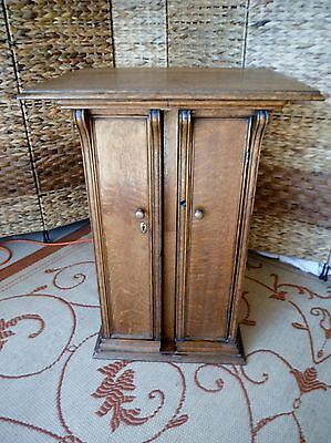 Singer Sewing Machine Cabinet Upcycled End Table