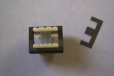 Transformer Laminations 3 sets + 3 bobbins, audio diy etc..Limited availability!