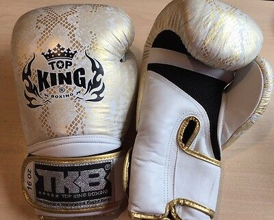 New Top King Snake Boxing Gloves 16oz FREE SHIPPING