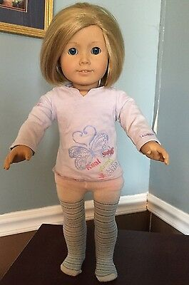 American Girl Doll Called Kit Used