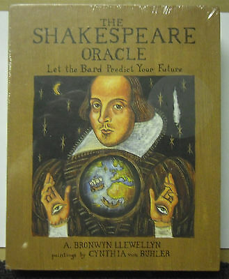 Sealed The Shakespeare Oracle Let The Bard Predict Your Future Tarot Cards