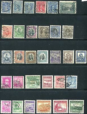 Chile 1878 - 1940 Used Lot