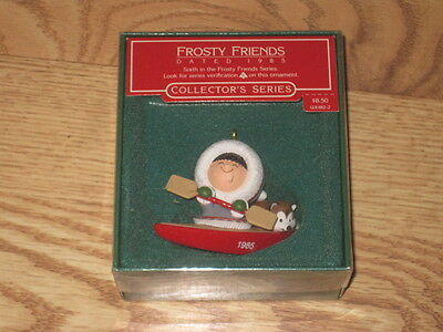 MIB Hallmark 1985 Frosty Friends 6th in Series Ornament