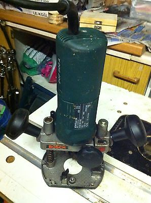 Bosch POF500A Router with 15 assorted bits