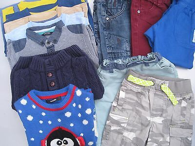 Bundle of boys clothes 2-3 years - 12 items
