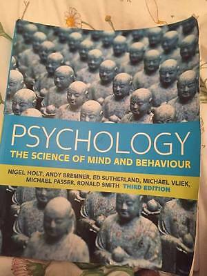 Psychology The Science Of Mind And Behaviour Holt Etc Third Edition