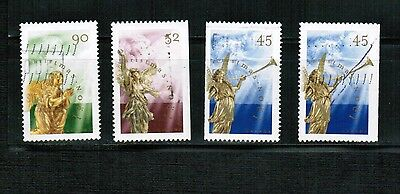CANADA 1998  CHRISTMAS STAMPS  set 4  #1764 - 1766   used BK 451