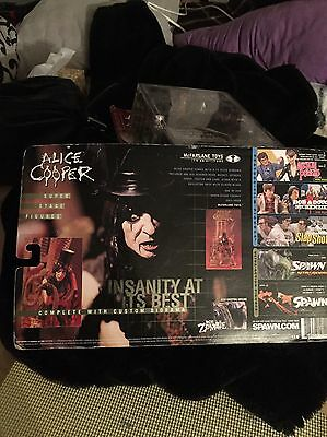 Alice Cooper Super Stage Figure Complete With Custom Diorama