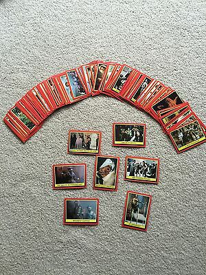 Lot of 97 Vintage Topps 1983 Star Wars Return of the Jedi Trading Cards