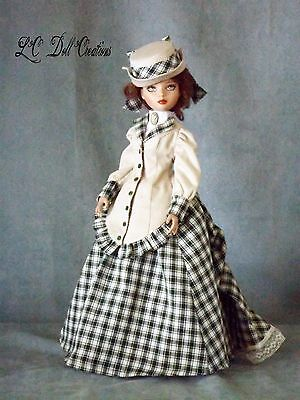 OOAK Almost Spring Victorian for Ellowyne Tonner by lcdollcreations