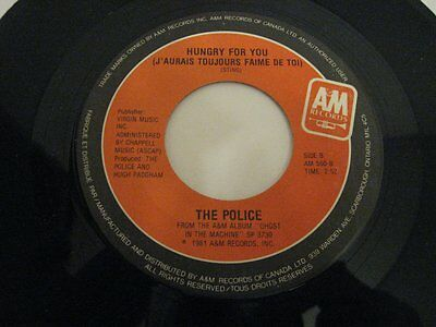 """The Police spirits in the material world - 45 Record Vinyl Album 7"""""""