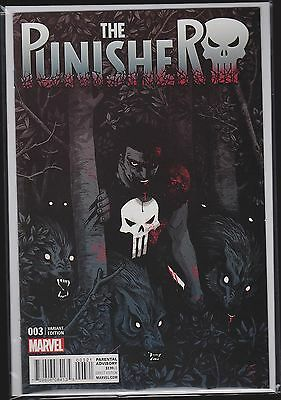 Marvel The Punisher #3 Cloonan Variant 1:25