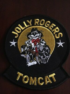 Rare Us Navy Jolly Rogers Tomcat Patch