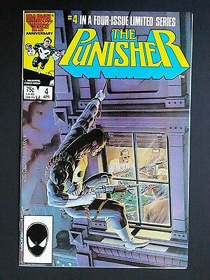 THE PUNISHER #4 NM 1986 Limited Series Marvel Comics (MC02)