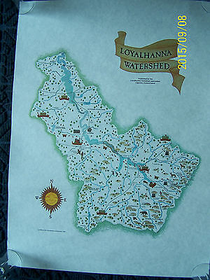 Loyalhanna Watershed Association Map Poster