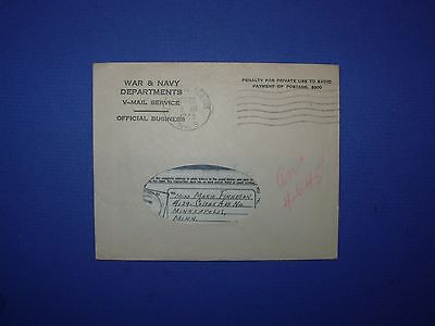 V Mail WWII