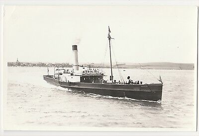 "Paddle Steamer ""premier""  In Weymouth"