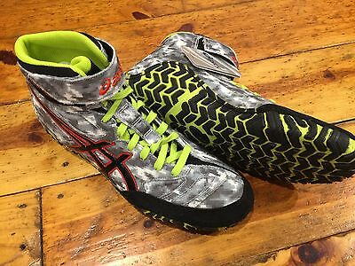 New Asics Aggressor 2 Limited Edition Digital Camo Wrestling Shoes 9