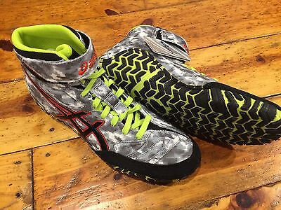 New Asics Aggressor 2 Limited Edition Digital Camo Wrestling Shoes 10.5