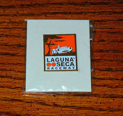 Laguna Seca Raceway Vintage Racing Hat Or Shirt Pin, Mint Condition