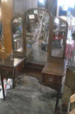 Early 1900s Vanity with mirror