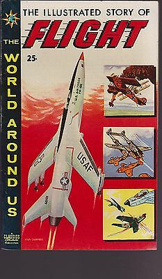 Old Comic The World Around Us Illustrated Story of the Flight 1959