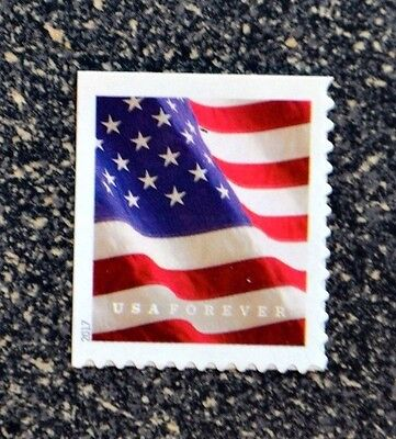 2017USA #5162 Forever U.S. Flag US - Single From ATM Booklet of 18 Mint  (APU)