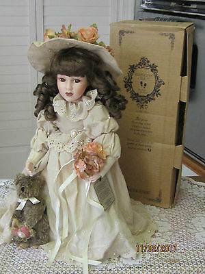 """BOYDS YESTERDAY'S CHILD, DOLL COLLECTION """"EMILY"""" Romantic Victorian Bride doll"""