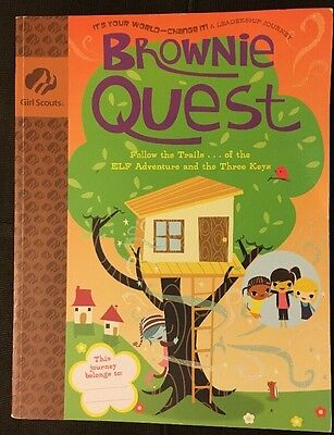 It's Your World - Change It - Brownie Quest - Girl Scouts Journey Girl Book