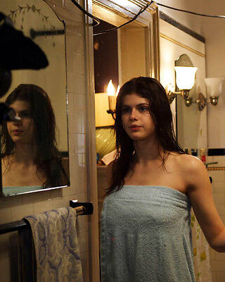 Super Hot Alexandra Daddario naked in towel 8x10