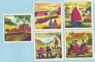 Talking Library Of Australia's History - Nabisco Trading Cards