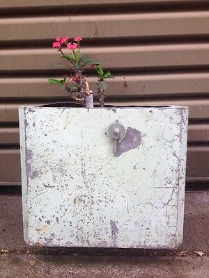 Vintage Copper Toilet Cistern/ Herb Planter Box Wall Decoration