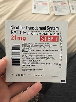 Nicotine Transdermal System Patch *21 Mg, Step One*